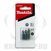 Набор Makita Ph1,2,3х25мм (3шт) B-24511